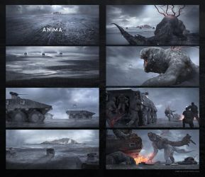 Keyframes - Anima - Opening scene by Long-Pham