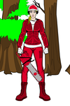 College football fangirl woodcutter Miami (OH) by Usaporkchops