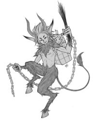 krampus by damndamndrum