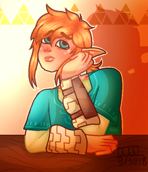A Link In the Sunset by TwiDash-FTW