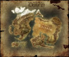 Map of Donarch by Quabbe