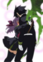 Seraph of the end Yuichiro and Shinoa by D-WTF