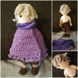 Therion Amigurumi by Vei-Ve
