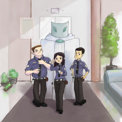Officers and Star Guard by CCCanyon
