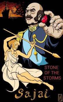 Sajai Mock Cover- Stone of the Storms by Captroop