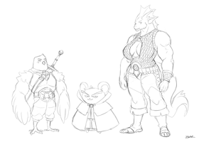 Broquest: Side Characters I by Blazbaros