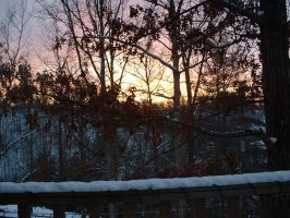 Porch Sunset 2 by JustinGreene
