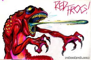 RED FROG by Rob-Schrab