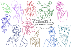 corporate robo BAD GUYS by Lady-With-A--K