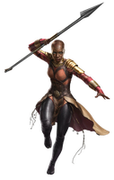 Black Panther Okoye PNG by Metropolis-Hero1125