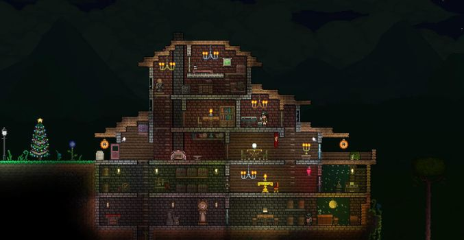 Terraria First house Remake by XploSlime7