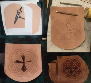 carved leather pouch 01wip by armourplatedlegion