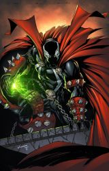 SPAWN by Adelso Corona by juan7fernandez