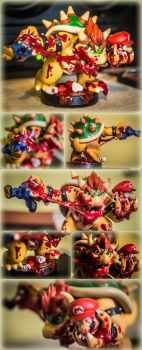 Custom Amiibo - Bowser by Patrick-Theater