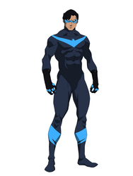Rebirth Nightwing by DeathCantrell