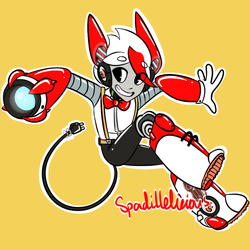 Art Trade with Retro-Sushi by spadillelicious