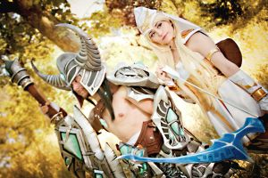 Ashe and Tryndamere  League of Legends by NunnallyLol