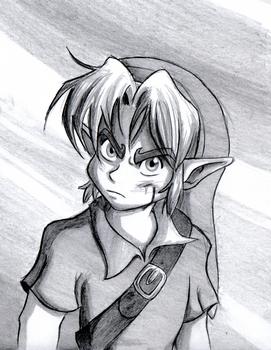 Angry Young Link by BlueLink