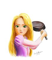 Frying Pan! by baottousai