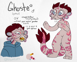 Ghoste Ref [pink] by ByteMyFur