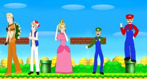Hetalia-Super Mario Crossover by 6thninja