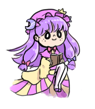 Patchy doodle by ManaManami