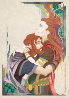 Grief (Thor and Loki) by OrangeSands