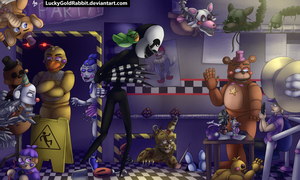 Welcome to Ultimate Custom Night by LuckyGoldRabbit