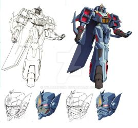Transtech Starscream by beamer