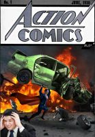 Action Comics #1: Man of Steel by fmirza95