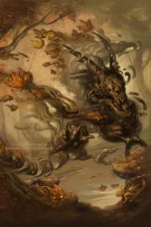 The Howling Autumn by The-SixthLeafClover