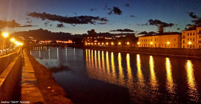 Sunset in Pisa 04 by NdrN