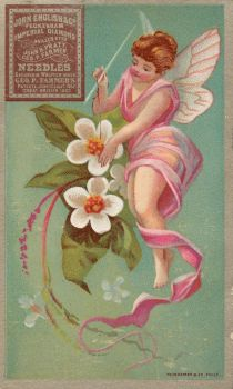 Victorian Advertising - Flower Faerie by Yesterdays-Paper