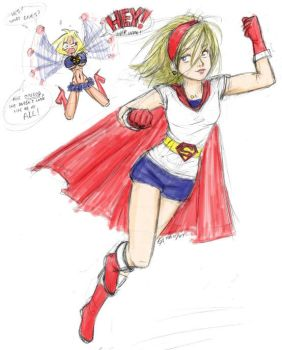 Draw Supergirl Meme by girlontheleft