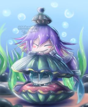 purple fish and his treasure by shirodebby