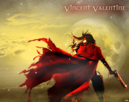 Vincent Valentine Wallpaper by Harty73