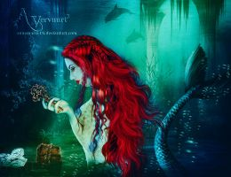 Mermaid Treasure by annemaria48