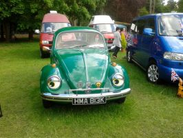 Classic car show Bettle by blackroselover
