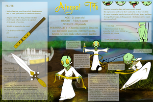 Character Reference - Aingeal by swiblet