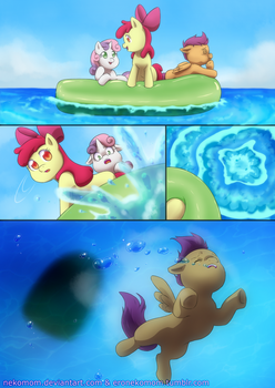 Mlp - Drowning Comic 01 -page 01 by nekomom