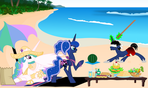 Summer Play by EvilFrenzy