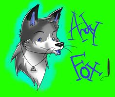 Andy Fox ( My fursona) by Andyvc92