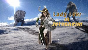 Lady Loki in Jotunheim day time variant by SWFan1977