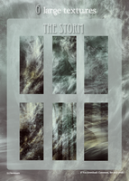 6 Large Textures The Storm by lucemare