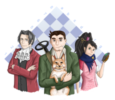 The Invincible Team by Grifoshka