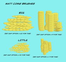 Matt's Coins Collection for Manga Studio 5 by toongsteno