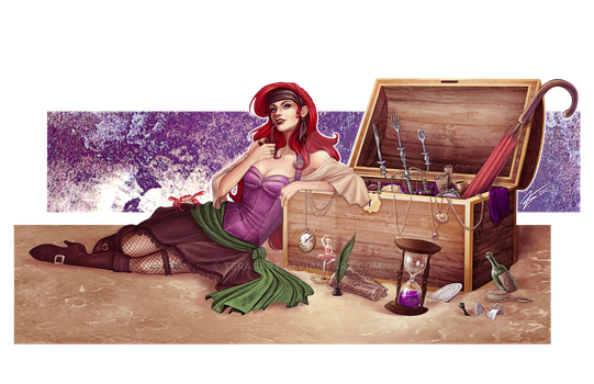 Where The Pirates Are by tbdoll
