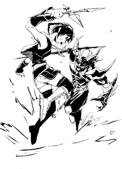 Cecil vs Yuffie by gts