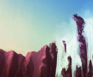 Visceral Waterfall by Tengus-Nose
