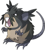 Raticate Alola Form